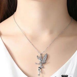 NWOT Tinker Bell Necklace